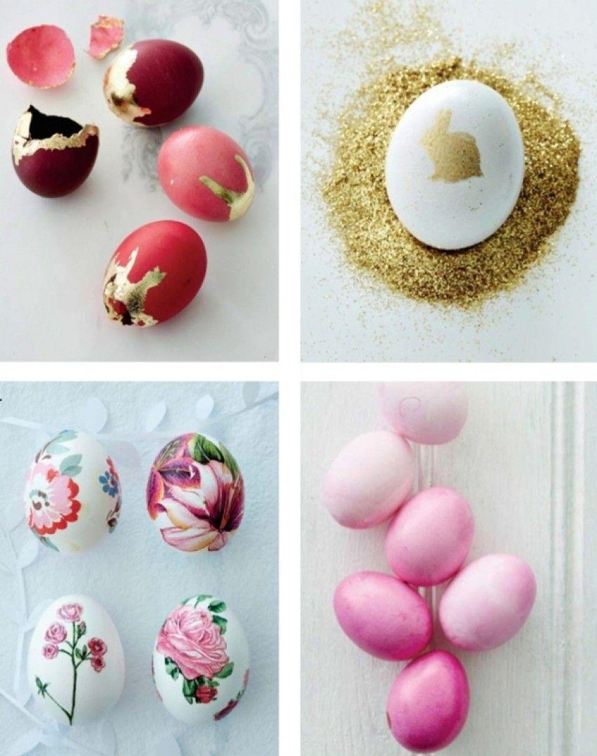 4 vrste dekoriranja uskršnjih jaja
