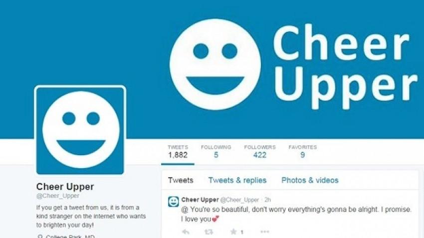 Cheer Upperom razveselite sve tužne ljude na Twitteru