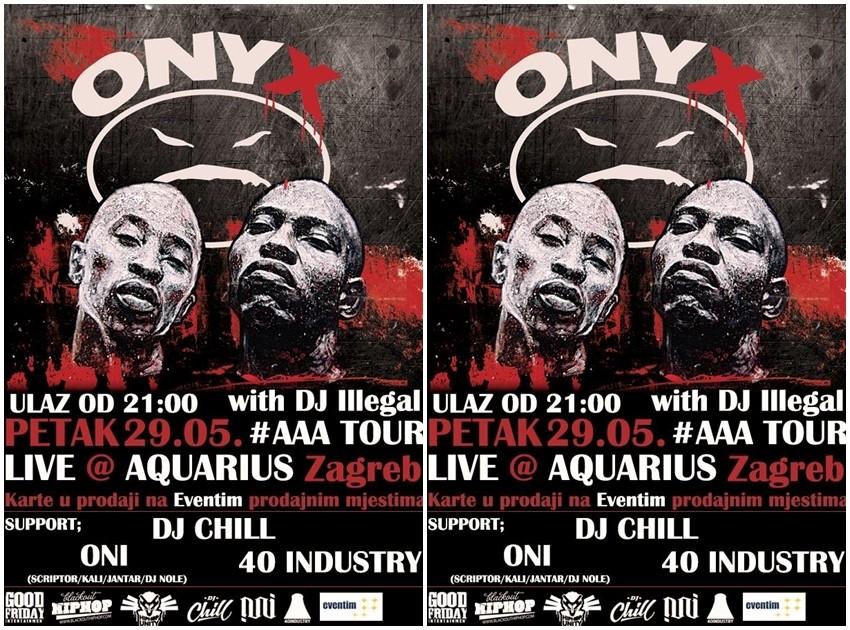 Američki hardcore reperi Onyx ponovno u Zagrebu