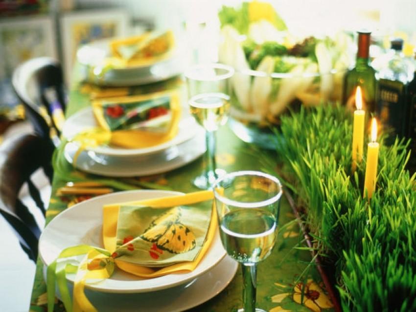 Kako dekorirati stol za uskrs - Decori pasquali per la casa ...