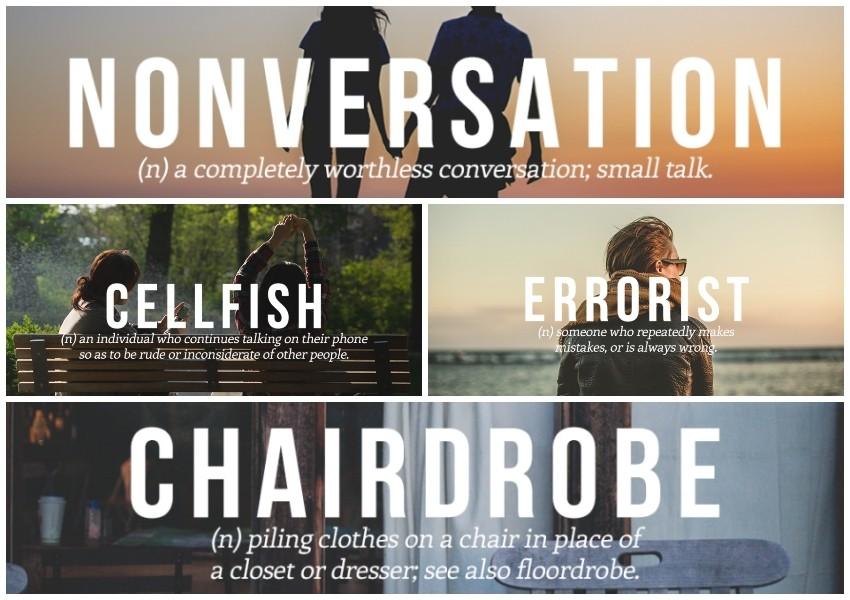 Nove urbane riječi koje bi MORALE ući u engleski rječnik!