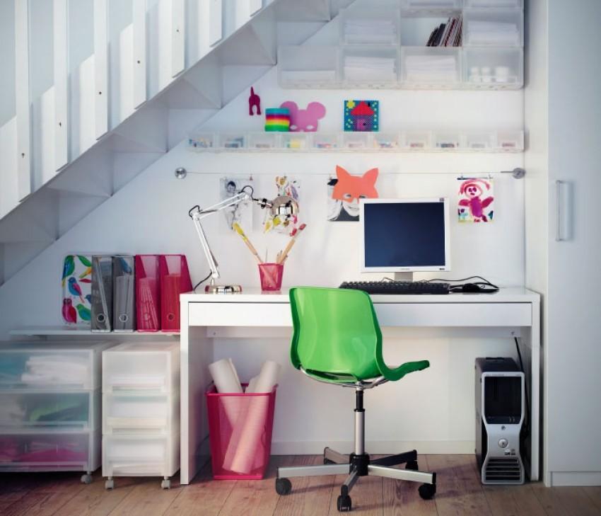 Kućni ured možete smjestiti bilo gdje