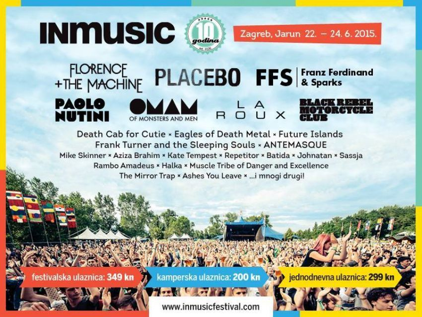 INmusic festival sve je bliže!