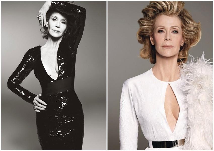 Jane Fonda za W Magazine
