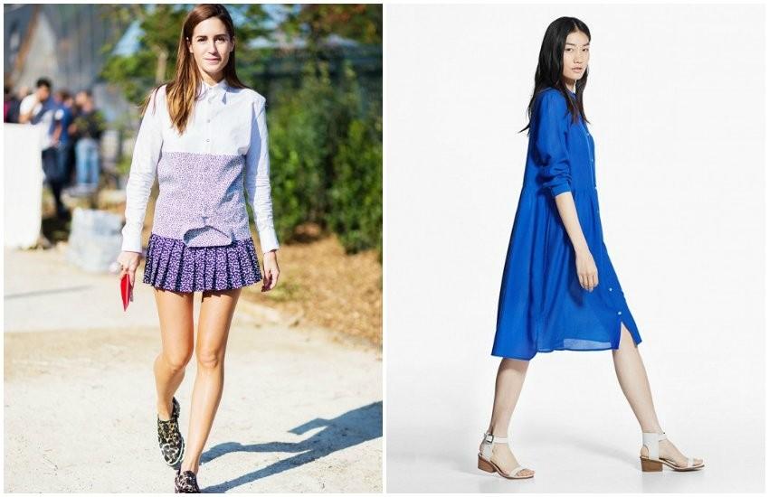 Style Du Monde / Mango Shirtdress