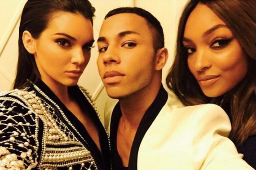 Olivier Rousteing s Kendall i Jourdann