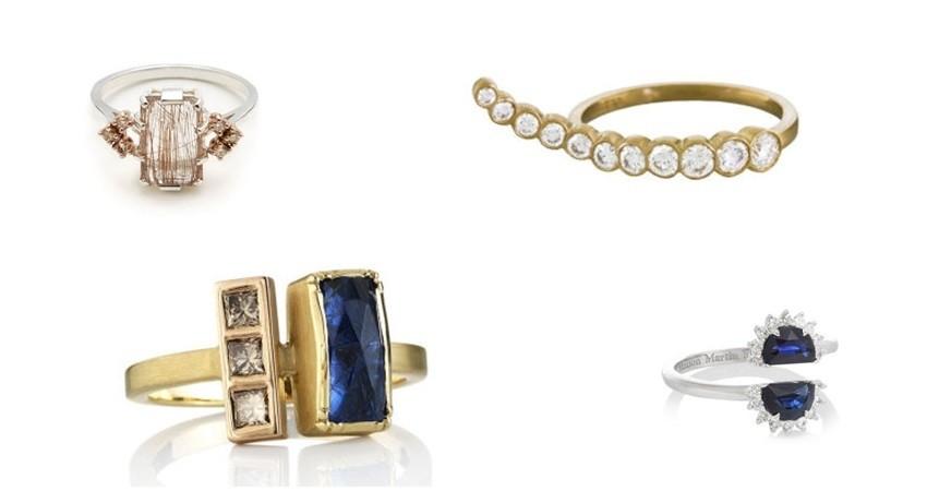 Najljepše zaručničko prstenje za atipičnu mladenku