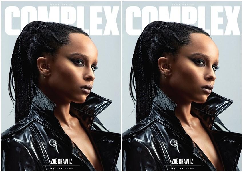 Zoe Kravitz za Complex
