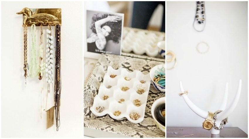 Kreativni načini kako organizirati nakit!