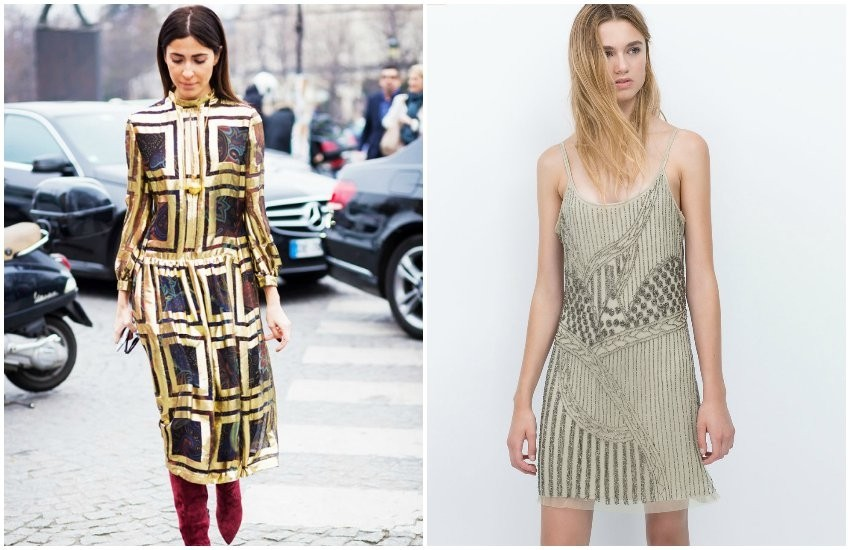 Style Du Monde / Zara Strass Dress (599.90 HRK)