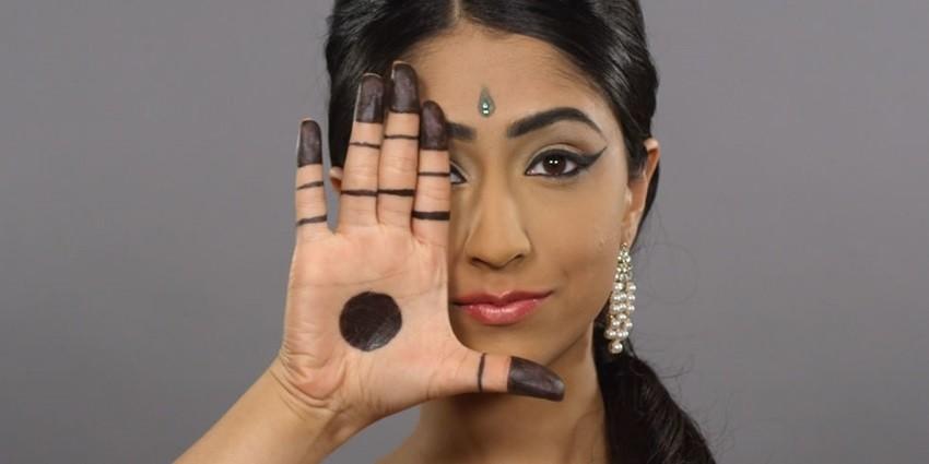 Pogledajte 100 godina ljepote u Indiji u samo jednoj minuti