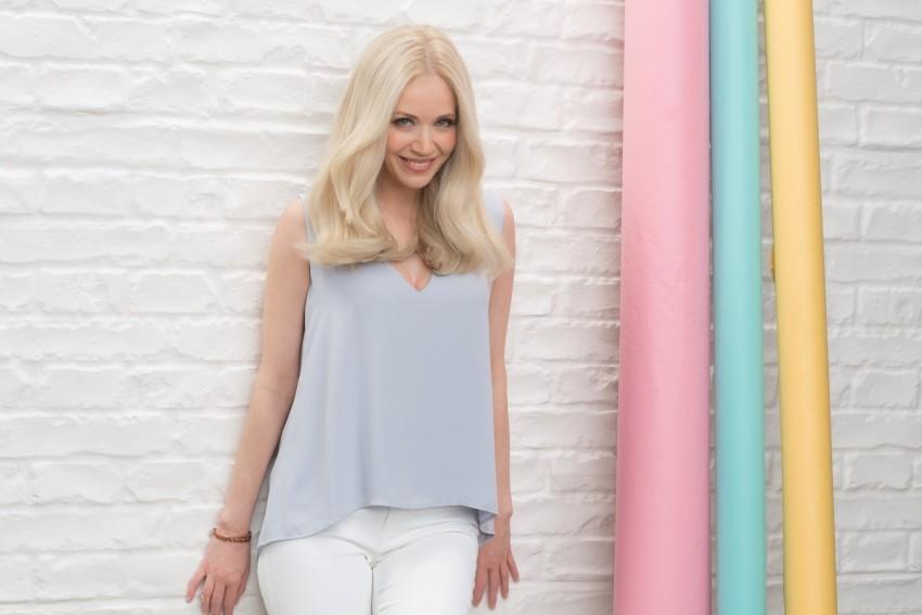Jelena Rozga - ambasadorica boje za kosu Garnier Color Naturals