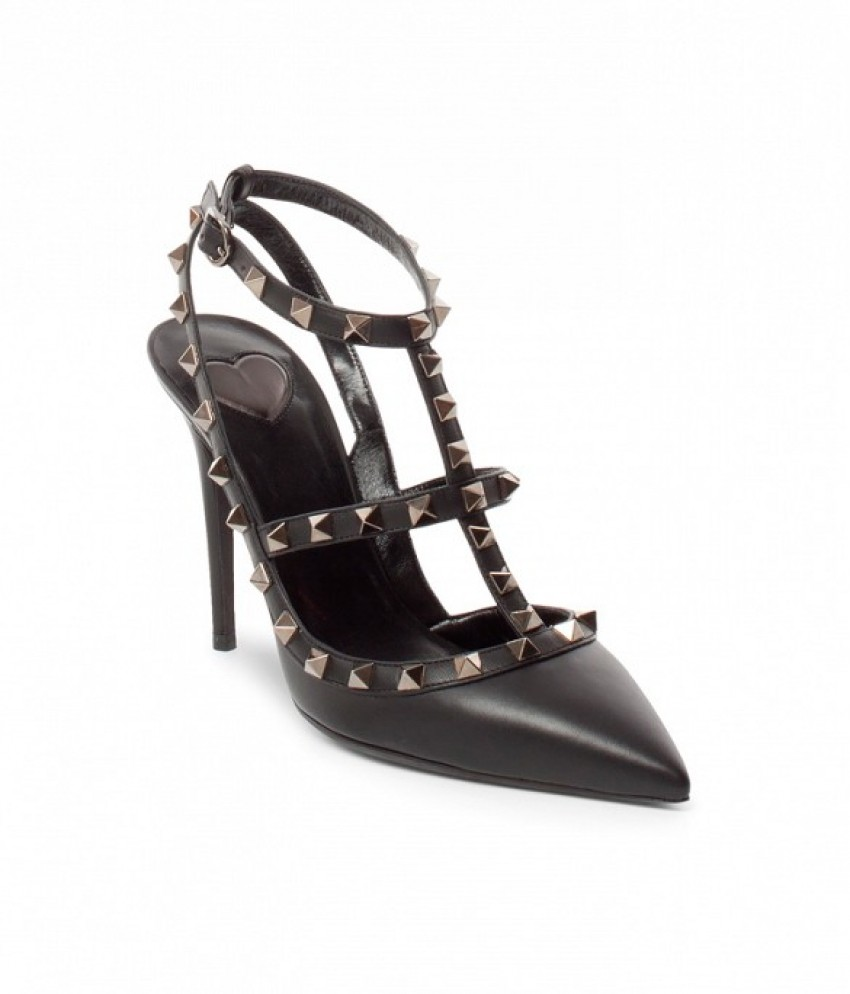 Valentino Cash & Rocket Leather Rockstud Stiletto Pumps (5.423 HRK)