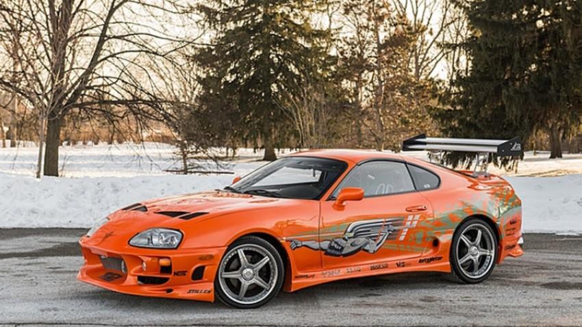 "Toyota Supra Paula Walkera iz ""Fast & Furious"" prodana za $185,000"