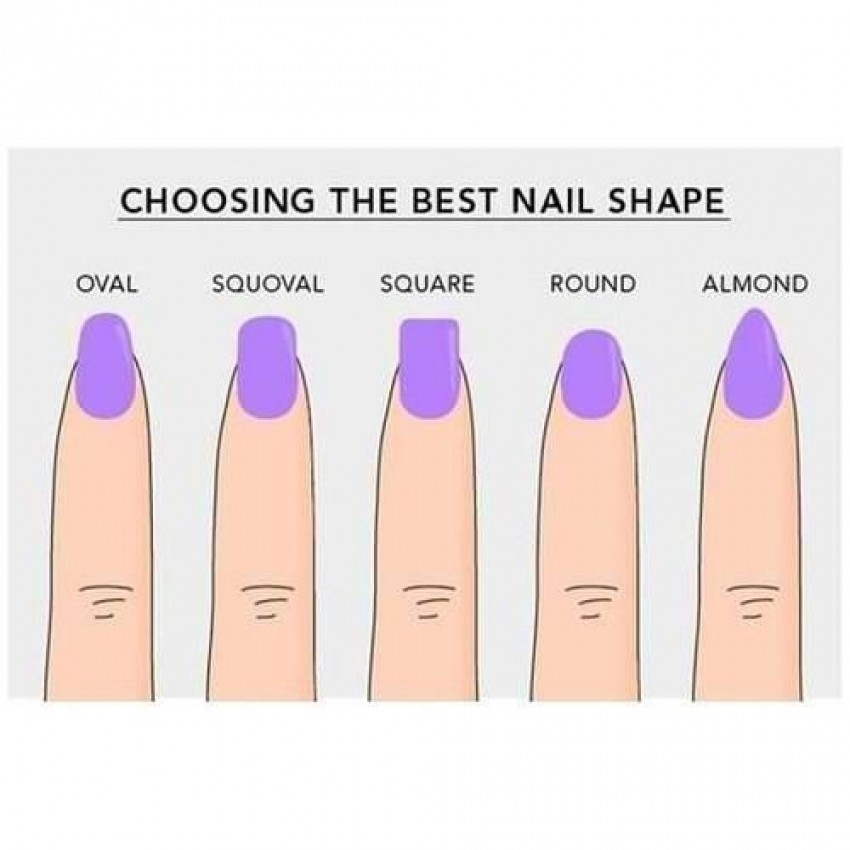 Squoval je najtrendi oblik noktiju!
