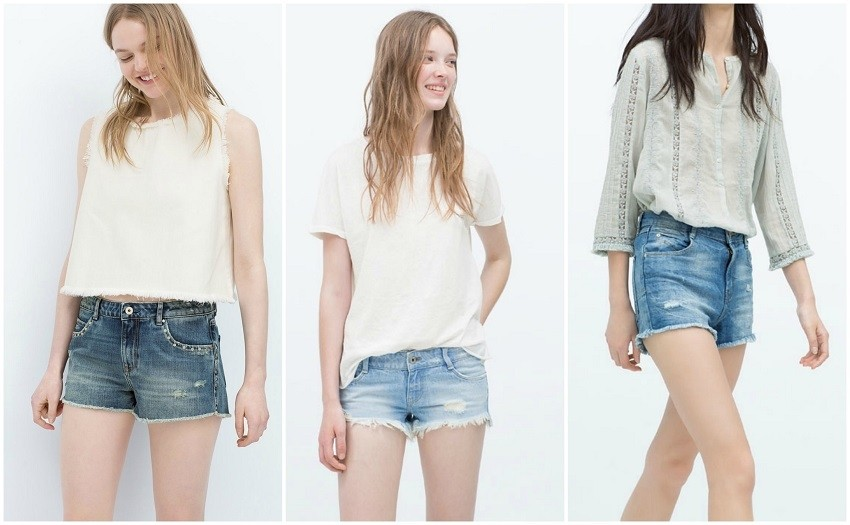 Zara Denim Shorts (229.90 HRK)
