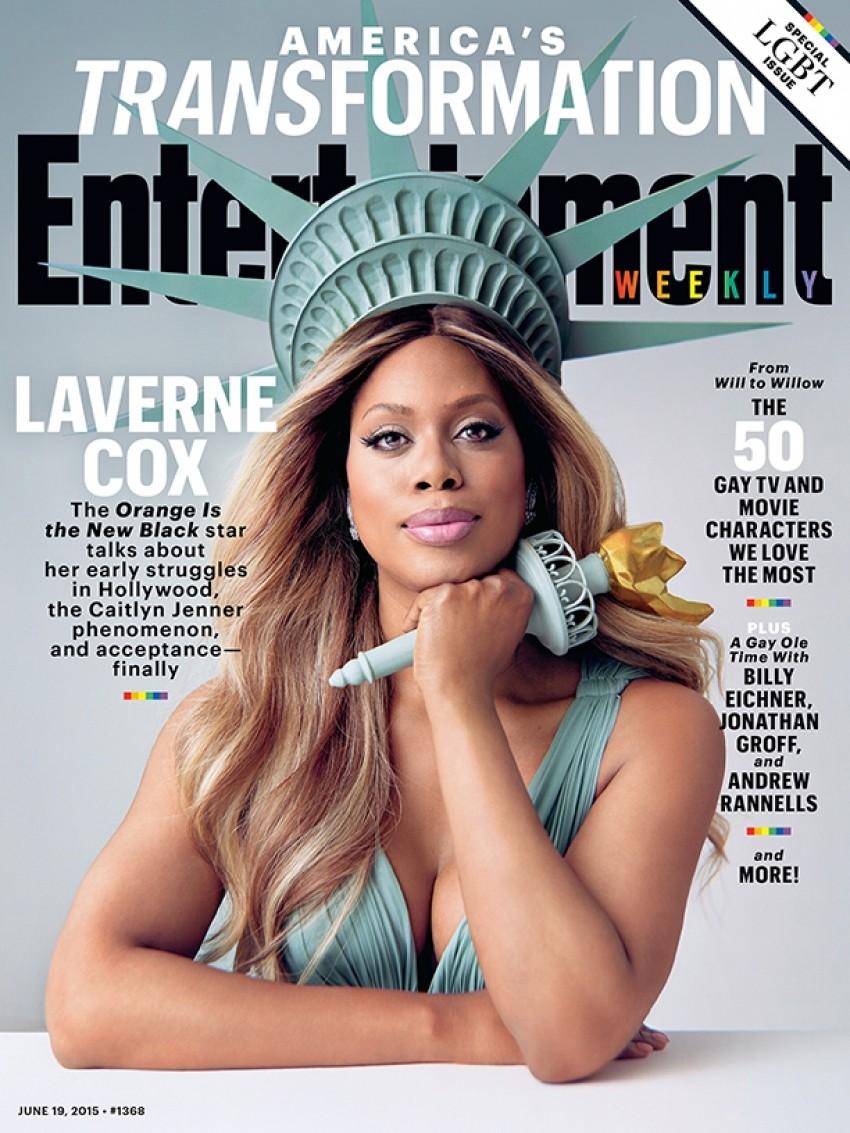 Obožavamo: Laverne Cox kao Lady Liberty
