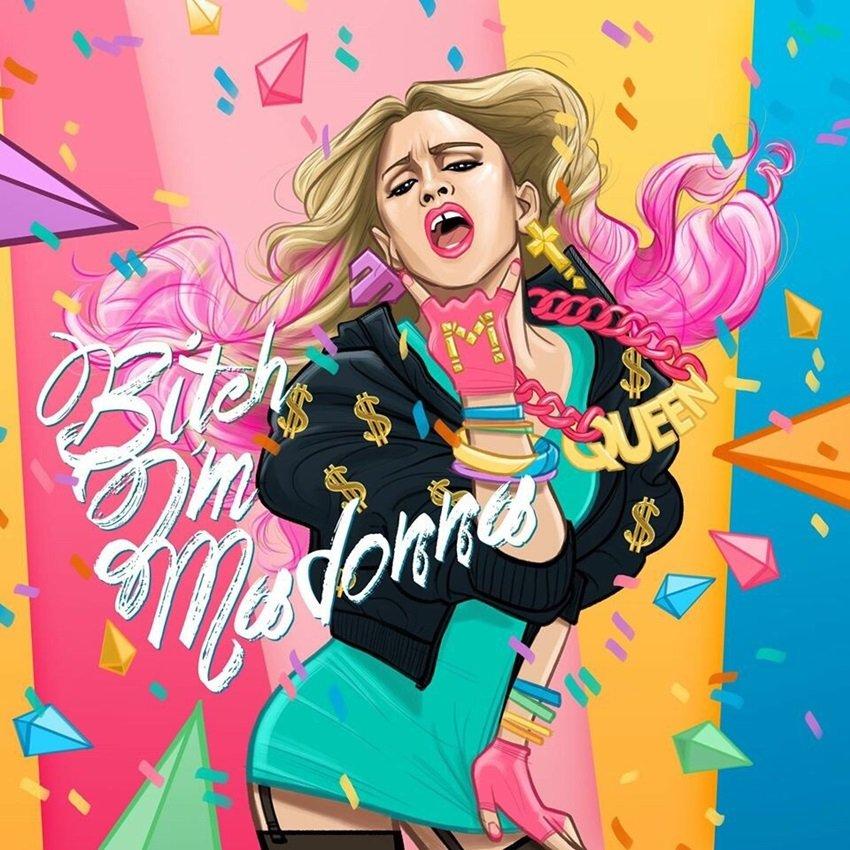"""Bitch I'm Madonna"" je novi Internet hit"