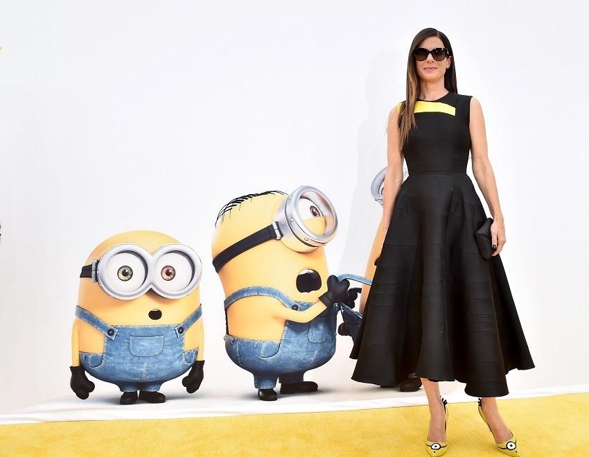"Sandra Bullock na premijeri ""Minionsa"""