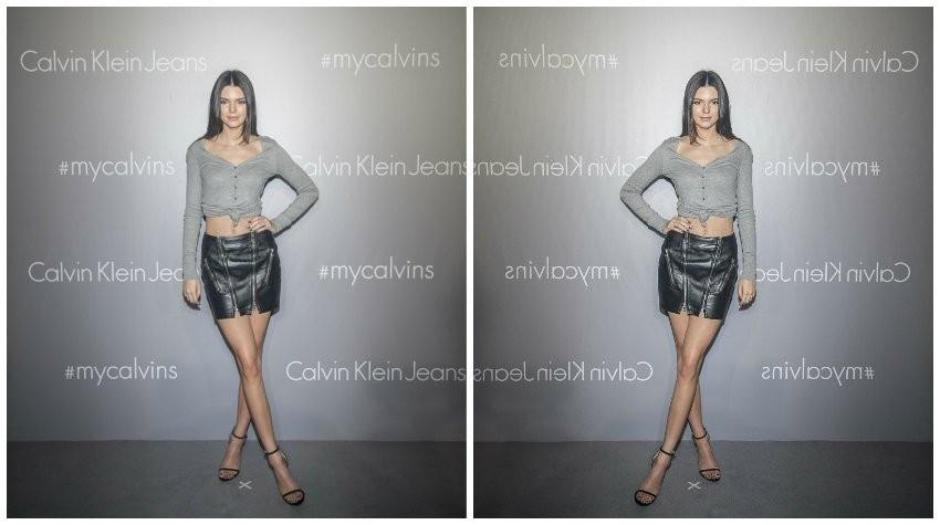 Kendall Jenner na CK eventu