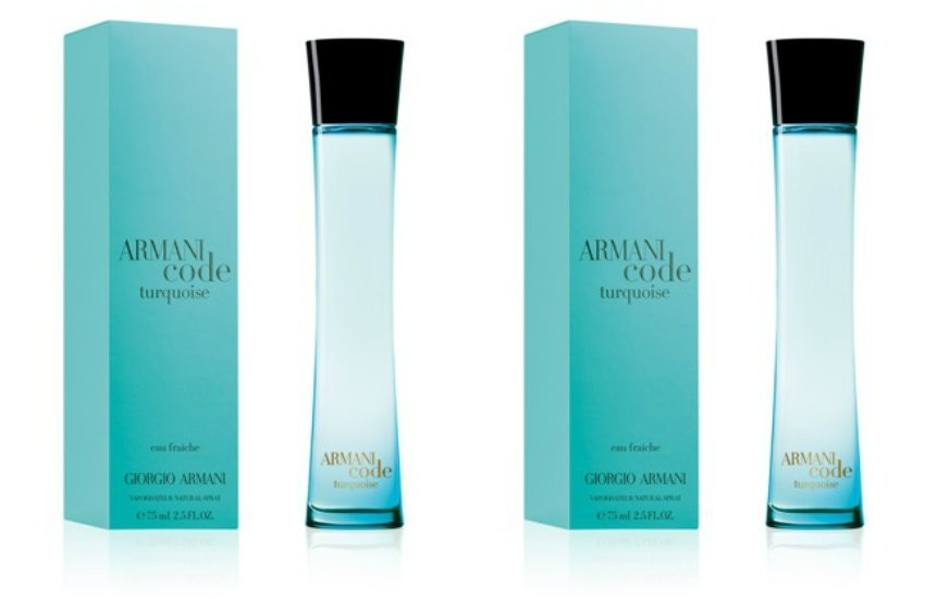 ARMANI Code Édition Turquoise
