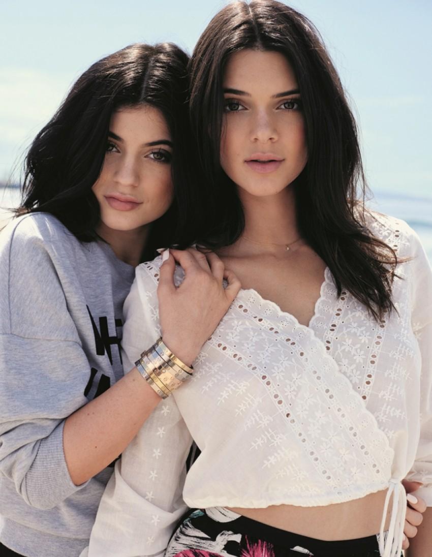 Kendall i Kylie Jenner x Topshop