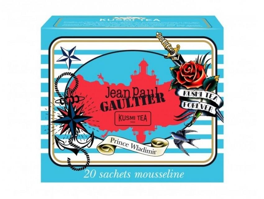 Jean Paul Gaultier dizajnirao Kusmi čajeve
