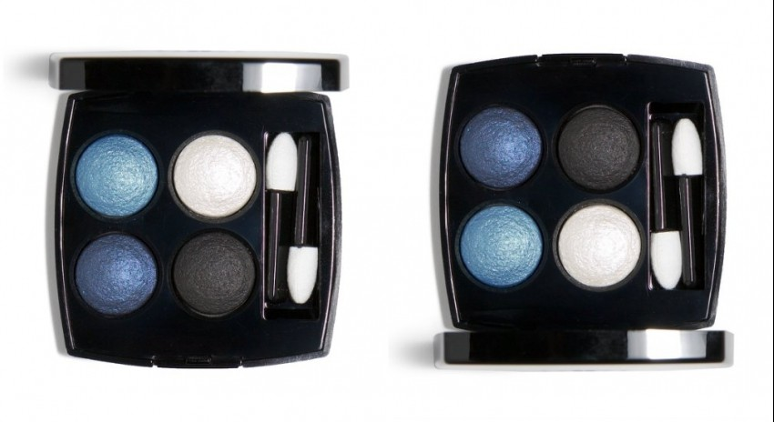 "Chanel Les 4 Ombres Eyeshadow Quad ""244 Tissé Jazz"""