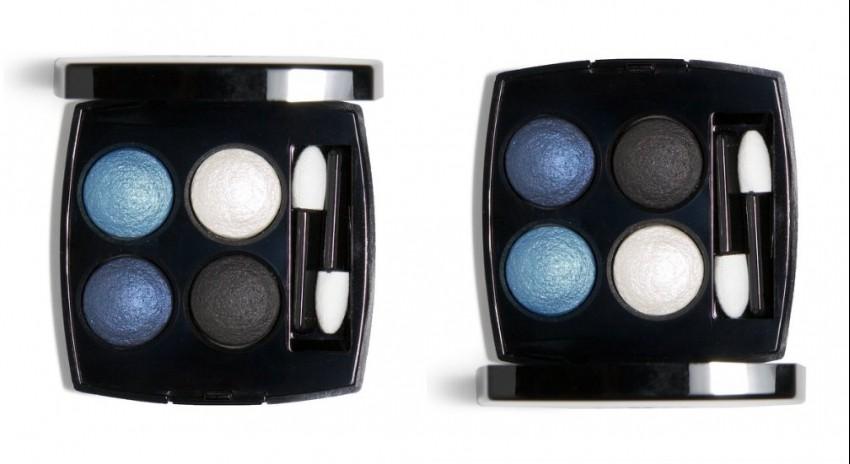 "Chanel Les 4 Ombres Eyeshadow Quad ""244 Tissé Jazz"""