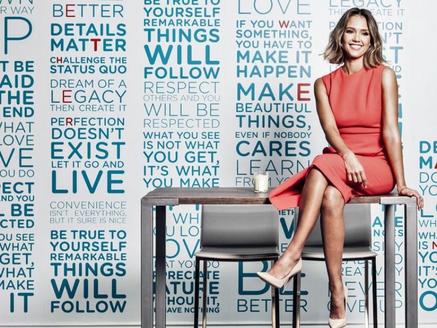 Jessica Alba za Forbes