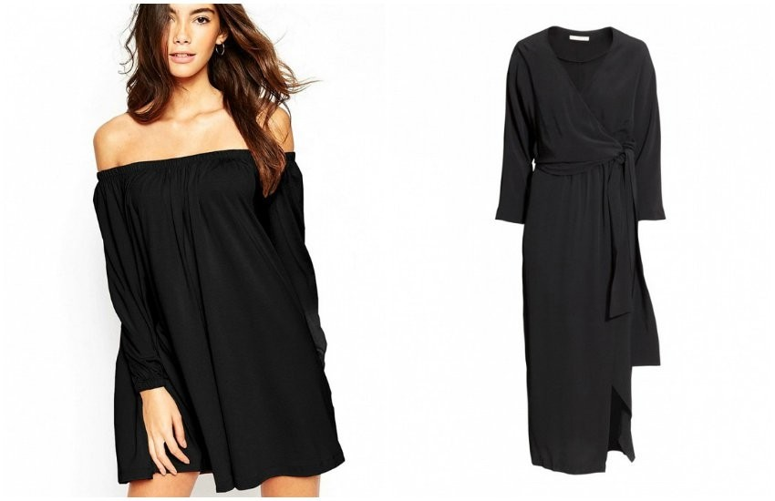 ASOS / H&M Wrap Dress
