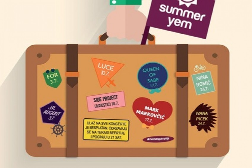 Summer Yem - Mini festival u dvorištu The Beertije