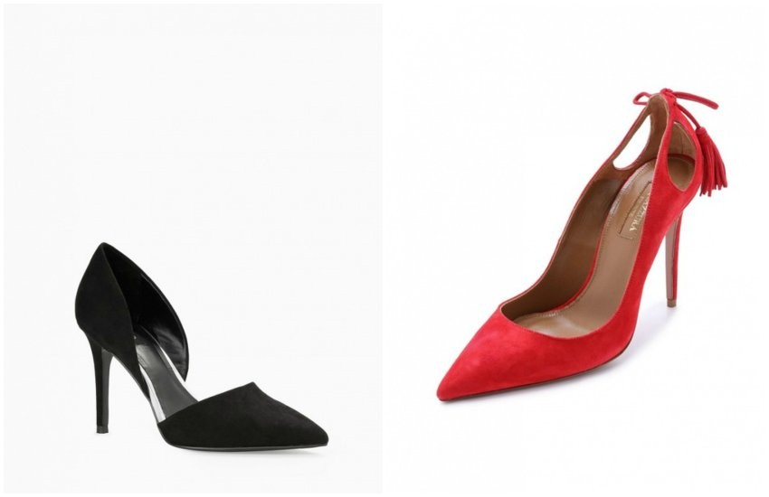 Mango Stiletto Shoes / Aquazzura Pumps