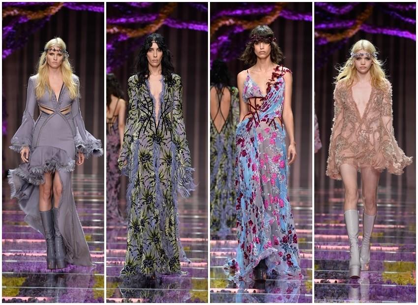 Couture jesen 2015: Atelier Versace je čisti boho seksepil