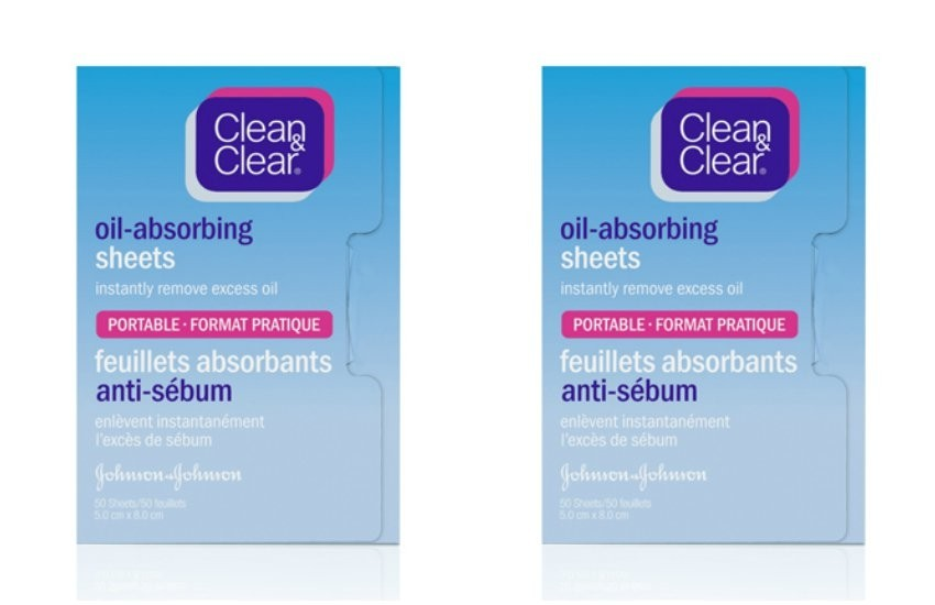 Clean & Clear Oil Blotting Sheets