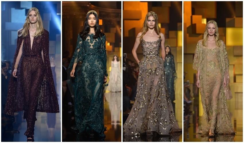 Couture jesen 2015: Elie Saab i Jean Paul Gaultier; Pogled na čaroliju iz dva kuta