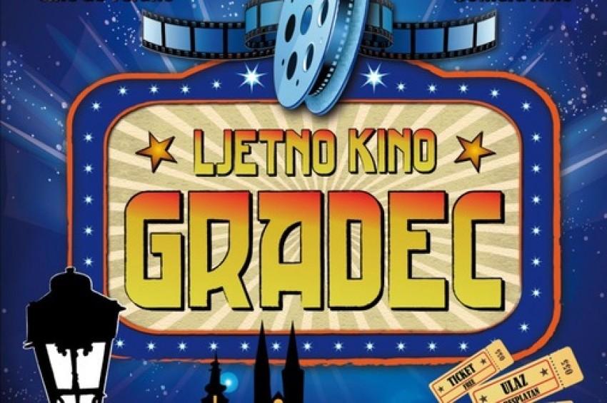 Ljetno kino Gradec 14.07.2015 - 31.08.2015.