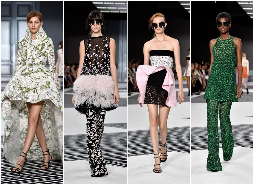 Couture jesen 2015: Rascvjetali Giambattista Valli i retro ekstravagancija kod Schiaparelli