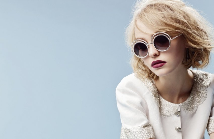 Lily Rose Depp za Chanel Eyewear