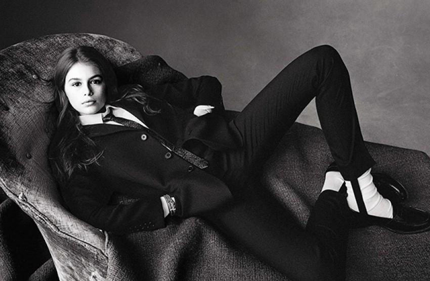 Kaia Gerber za Vogue