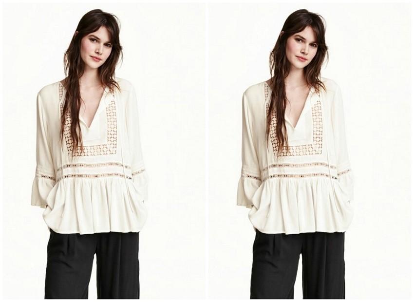 H&M Crepe Blouse ($60)