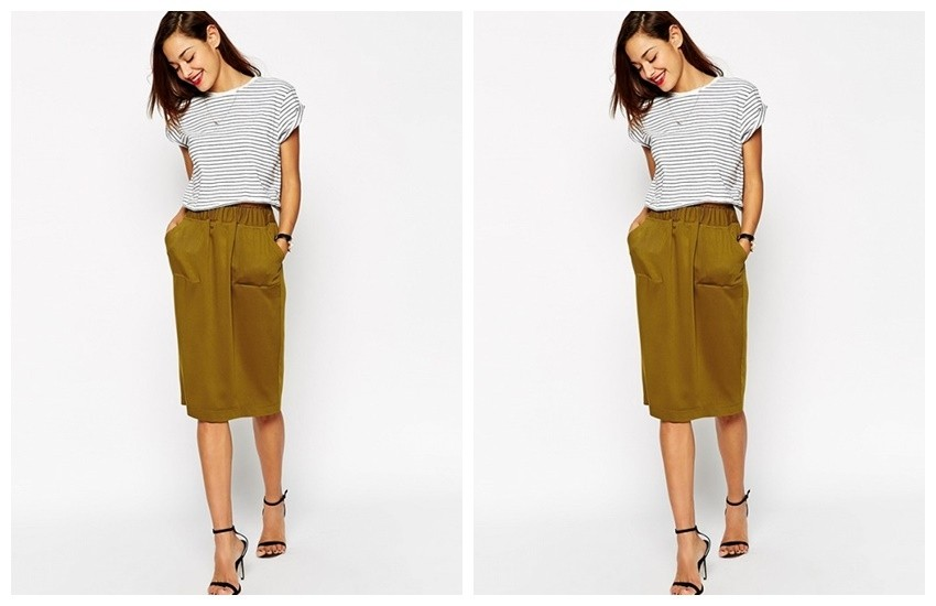 ASOS Skirt With Utility Detail ($50)