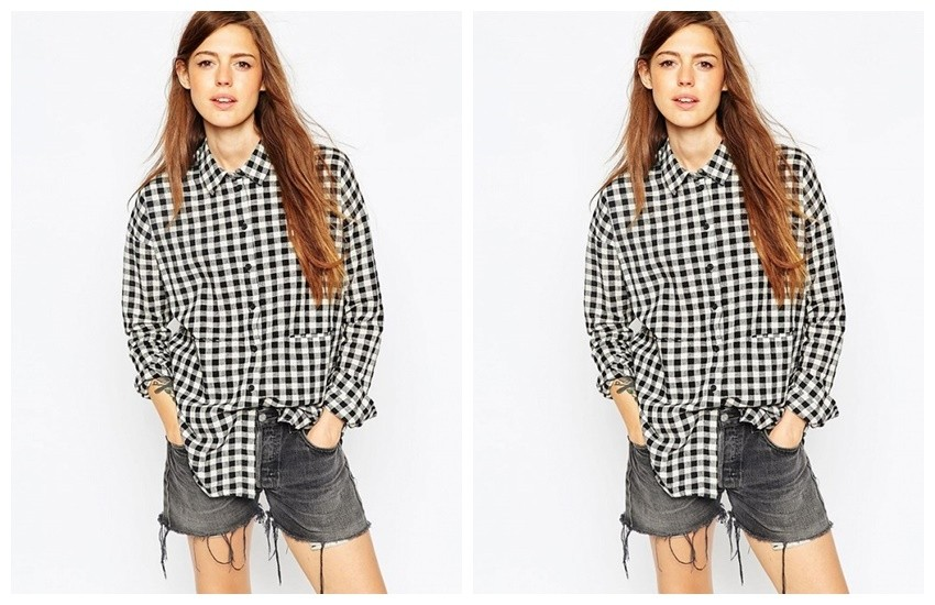 ASOS Gingham Check Shirt ($50)