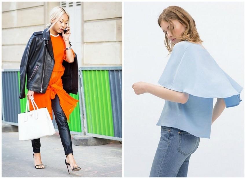 Style du Monde / Zara Double Layer T-Shirt