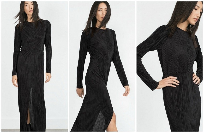 Zara Pleated Dress (359,90 HRK)