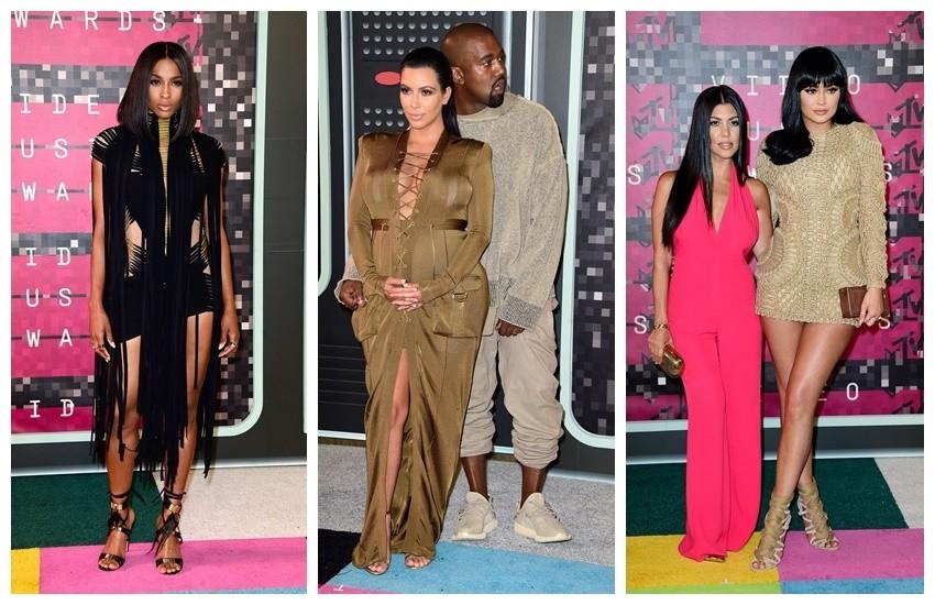 Ciara, Kimye, Kourtney Kardashian i Kylie Jenner