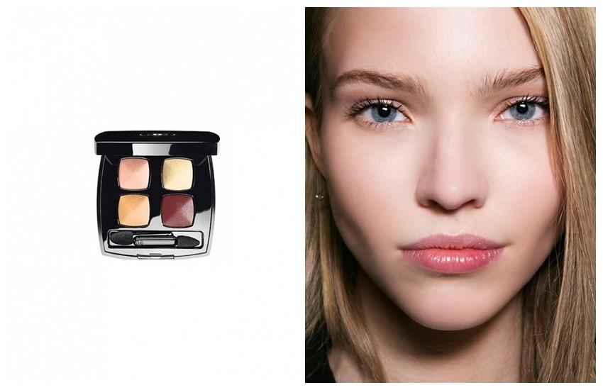 """Za plave oči: Chanel Les 4 Ombres Quadra Shadow ($61) u nijansi """"Eclosion"""""""
