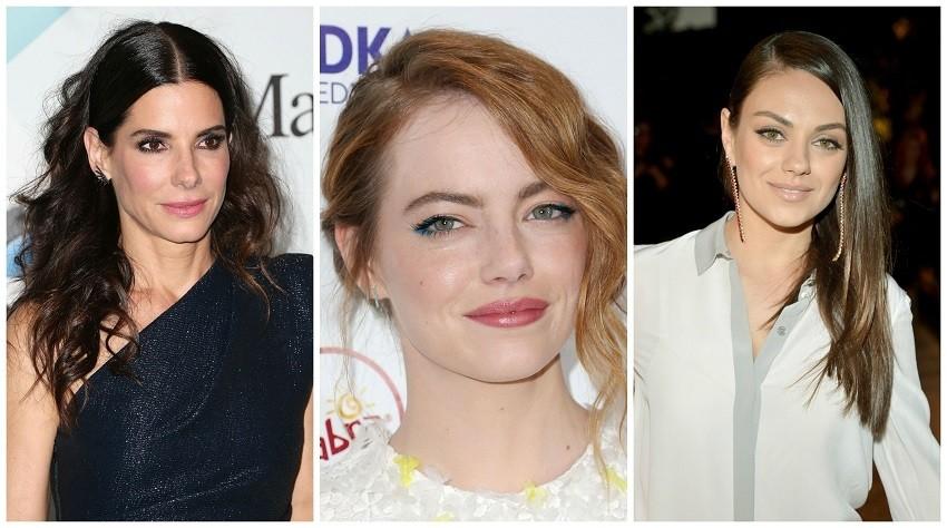 Sandra Bullock, Emma Stone, Mila Kunis