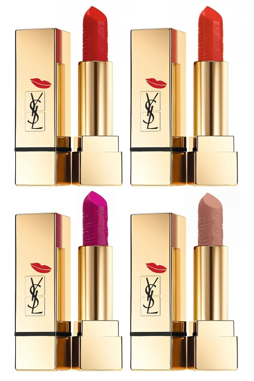 Yves Saint Laurent Rouge Pur Couture Collector Kiss & Love Edition