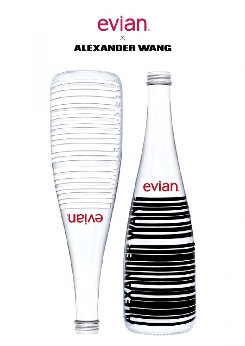Evian voda s Wangovim dizajnom